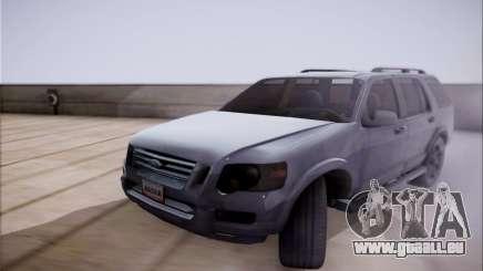 Ford Explorer Eddie Bauer 2011 pour GTA San Andreas