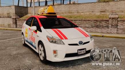 Toyota Prius 2011 Warsaw Taxi v4 für GTA 4