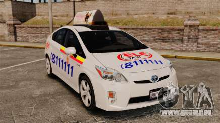 Toyota Prius 2011 Warsaw Taxi v3 für GTA 4