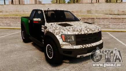 Ford F-150 SVT Raptor 2011 ArmyRat für GTA 4