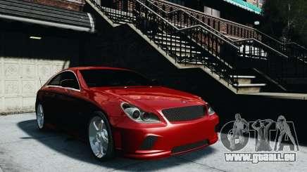 Mercedes-Benz CLS AMG pour GTA 4