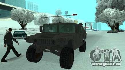 Hummer H1 aus den Spiel Resident Evil 5 für GTA San Andreas