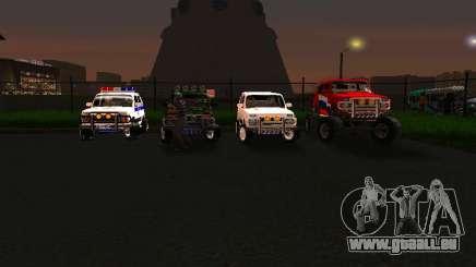 VAZ 212140 Police pour GTA San Andreas