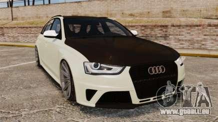 Audi RS4 Avant VVS-CV4 2013 pour GTA 4