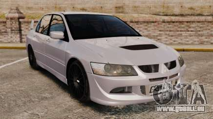 Mitsubitsi Lancer MR Evolution VIII 2004 Stock für GTA 4