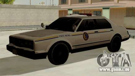 Nord Yanton Polizei Esperanto von GTA 5 für GTA San Andreas