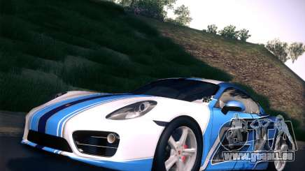 Porsche Cayman S 2014 pour GTA San Andreas