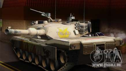 Abrams Tank Indonesia Edition für GTA San Andreas