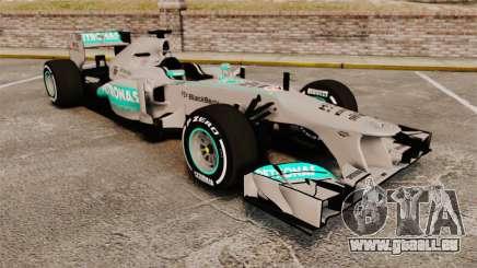 Mercedes AMG F1 W04 v5 pour GTA 4