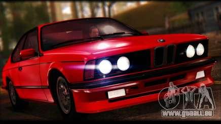 BMW E24 M635 1984 für GTA San Andreas