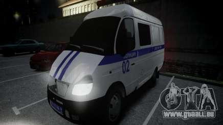 Gazelle 2705 Polizei für GTA 4