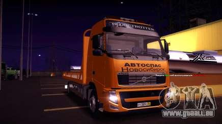 Volvo FH12 Abschleppwagen für GTA San Andreas