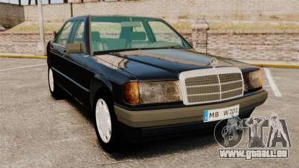 Mercedes-Benz E190 W201 pour GTA 4