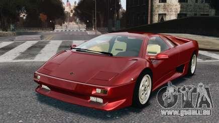 Lamborghini Diablo VT 1994 pour GTA 4