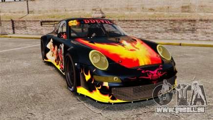 Porsche GT3 RSR 2008 Ddevil pour GTA 4