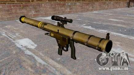 Mk153 SMAW Schulter Granatwerfer Mod 0 für GTA 4