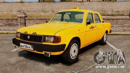 Gaz-31029 taxi pour GTA 4