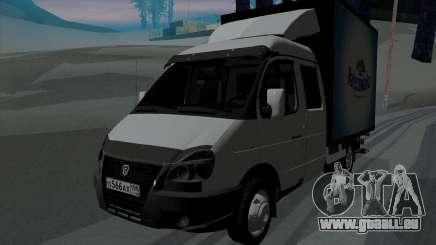 Entreprise Gazelle 33023 pour GTA San Andreas