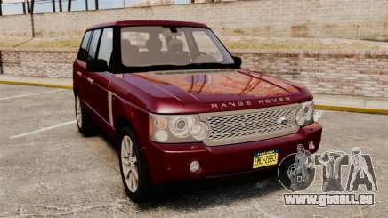 Range Rover Supercharged pour GTA 4