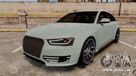 Audi RS4 Avant pour GTA 4