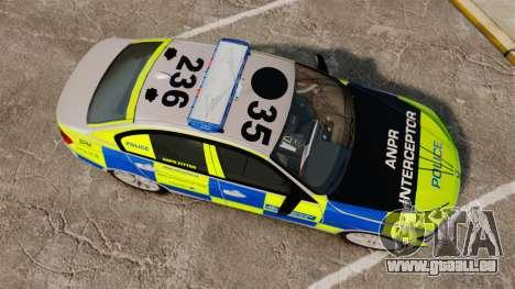 BMW F30 328i Metropolitan Police [ELS] pour GTA 4 est un droit