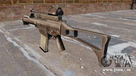 HK G36C Sturmgewehr für GTA 4 Sekunden Bildschirm