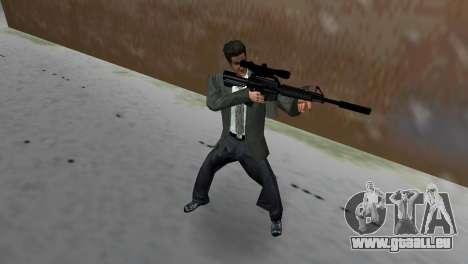 M4 avec le fusil de Sniper pour GTA Vice City