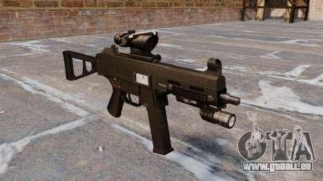 UMP45 mitraillette pour GTA 4