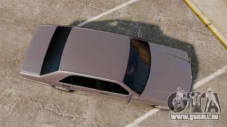 Mercedes-Benz S600 W140 pour GTA 4 est un droit