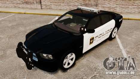 Dodge Charger RT 2012 Police [ELS] für GTA 4 Seitenansicht