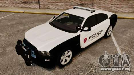 Dodge Charger RT 2012 Police [ELS] für GTA 4 obere Ansicht
