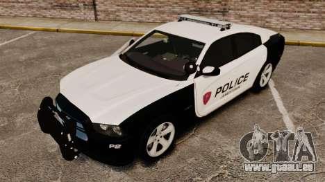 Dodge Charger RT 2012 Police [ELS] pour GTA 4 vue de dessus
