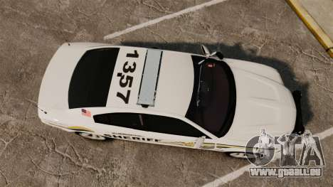Dodge Charger RT 2012 Police [ELS] pour GTA 4 est un droit