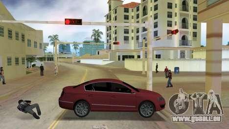 Volkswagen Passat 2007 für GTA Vice City linke Ansicht