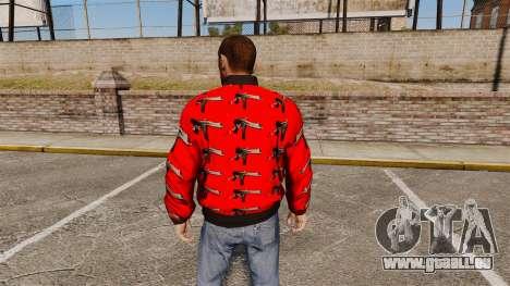 Windbreaker-Uzi - für GTA 4 Sekunden Bildschirm