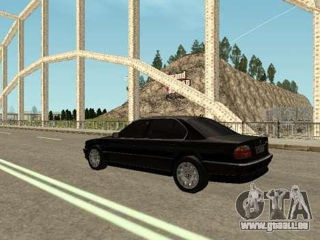 BMW 750i für GTA San Andreas linke Ansicht