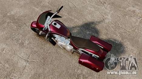 GTA V Bagger pour GTA 4 Vue arrière de la gauche