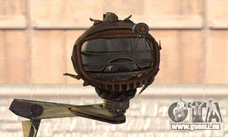 Robo Fallout 3 pour GTA San Andreas troisième écran