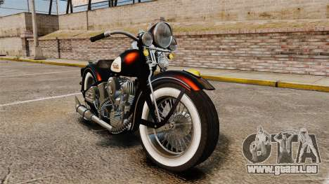 Harley-Davidson Knucklehead 1947 pour GTA 4