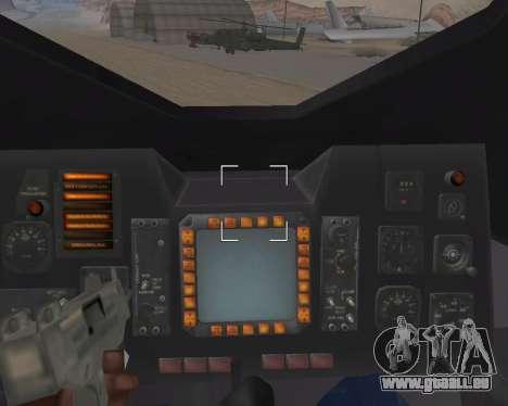 StarGate F-302 pour GTA San Andreas vue de dessous