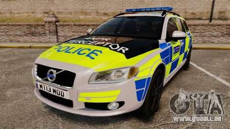 Volvo V70 Metropolitan Police [ELS] pour GTA 4