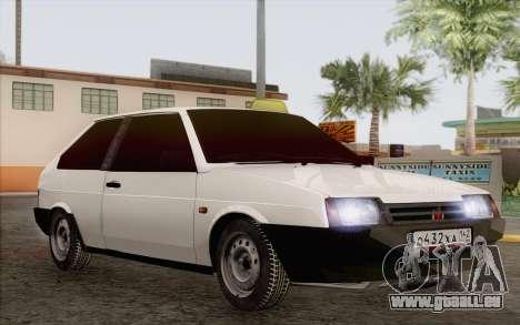 VAZ 2108 Taxi für GTA San Andreas