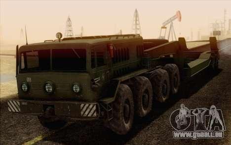 MAZ-535 für GTA San Andreas Unteransicht