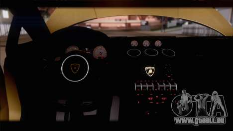 Lamborghini Gallardo LP560-4 Coupe 2013 V1.0 pour GTA San Andreas salon