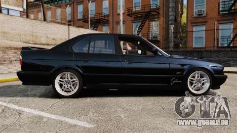 BMW M5 E34 pour GTA 4 est une gauche