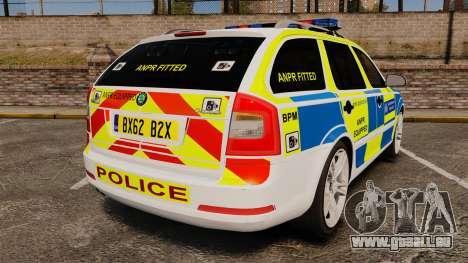 Skoda Octavia Scout RS Metropolitan Police [ELS] für GTA 4 hinten links Ansicht