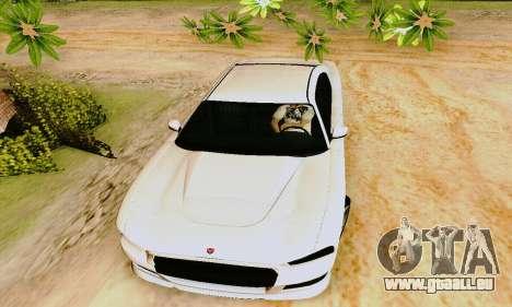 Buffalo de GTA V pour GTA San Andreas vue de dessous