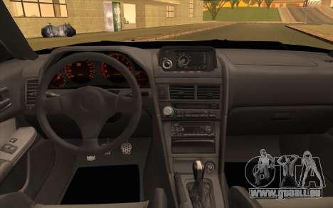 Nissan Skyline R34 Z-Tune für GTA San Andreas Rückansicht
