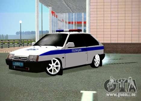 VAZ 2108 DPS für GTA San Andreas