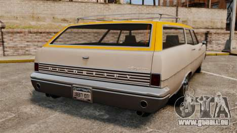 GTA IV TLAD Regina für GTA 4 hinten links Ansicht